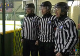 3 generations, 1 family of referees hit the ice at minor hockey week