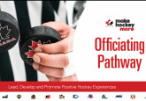 Hockey Canada Officials Pathway unveiled